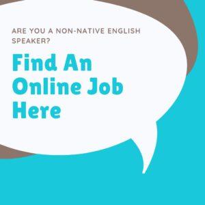 Online ESL jobs